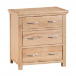 Arundel Country 3 Drawer Chest of Drawers