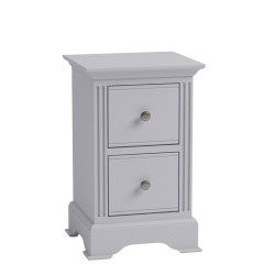 Brighton Painted Grey Small Bedside Chest