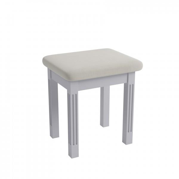 Brighton Painted Grey Dressing Table Stool