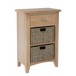 Goodwood 2 Basket Hall Cabinet