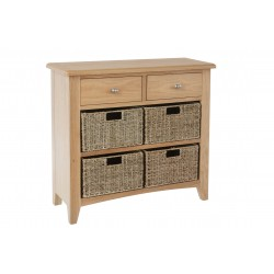 Goodwood 4 Basket Hall Cabinet