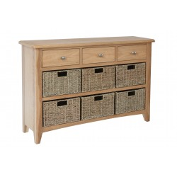 Goodwood 6 Basket Hall Cabinet