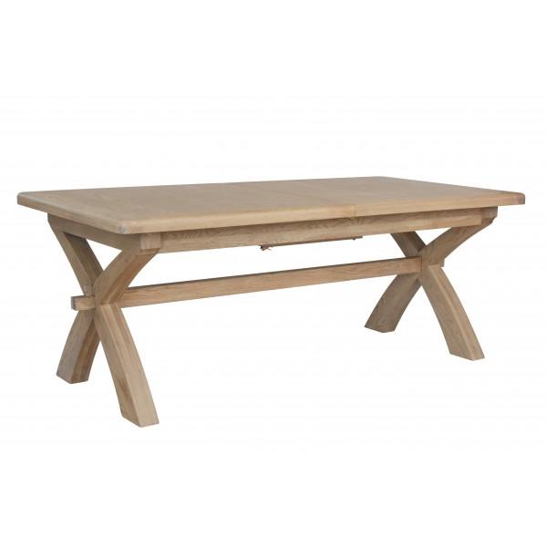 Henley Cross Leg Extending Dining Table