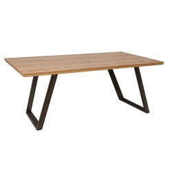 Ashington Fixed Top Dining Table