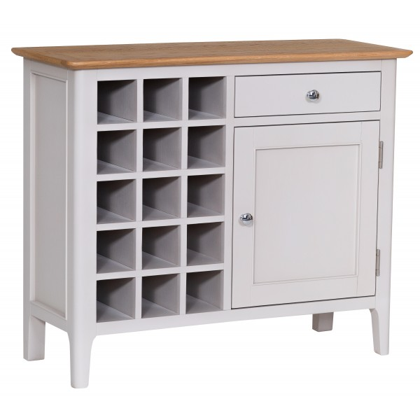 Nutbourne Painted Wine Cabinet