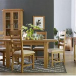 Oldbury Rustic Ladder Back Dining Chairs (Set of 2)