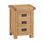 Oldbury Rustic Bedside Chest of Drawers