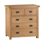Oldbury Rustic 5 Drawer Chest