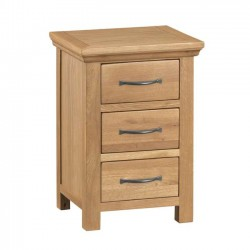 Arundel Rustic Bedside Chest of Drawers