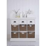 Tudor 2 Basket Cabinet