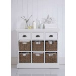 Tudor 3 Basket Cabinet