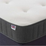 Violet Cool Blue Memory Foam Coil Spring Mattress