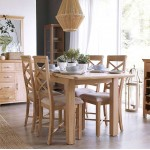 Arundel Country Cross Back Dining Chairs (Set of 2)