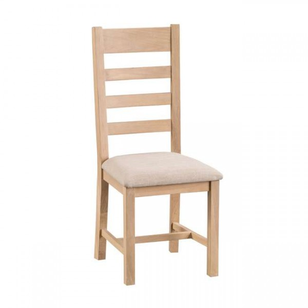 Oldbury Country Ladder Back Dining Chairs (Set of 2)