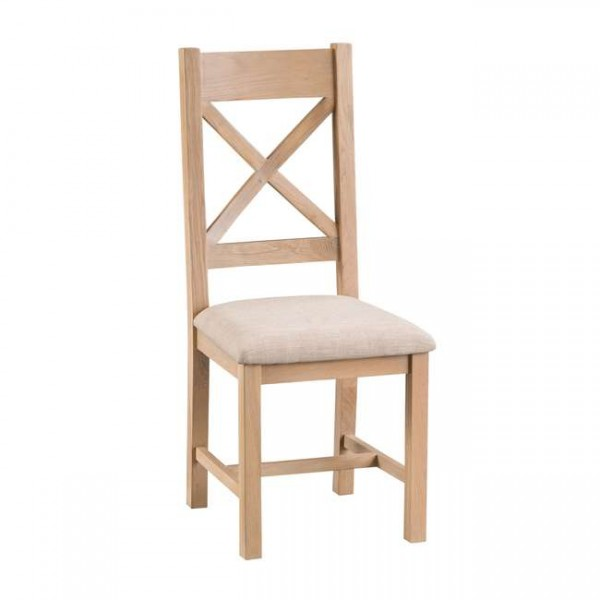 Oldbury Country Cross Back Dining Chairs (Set of 2)