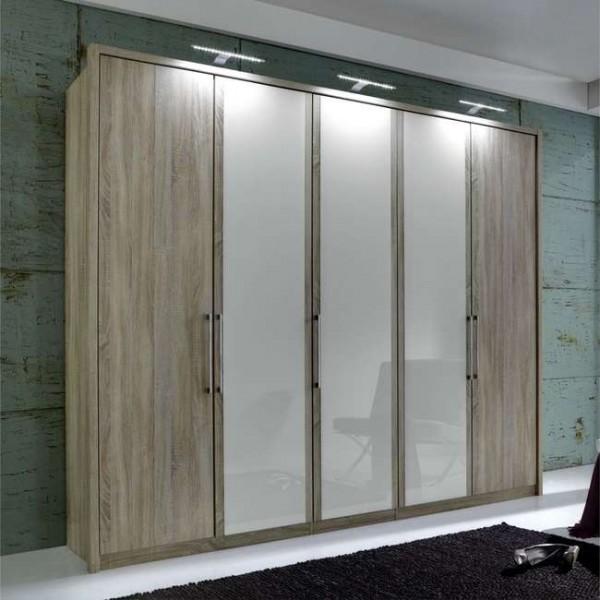 Berlin Wardrobe 5 Door 250cm