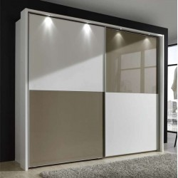Berlin Sliding Wardrobe 2 Door 150cm