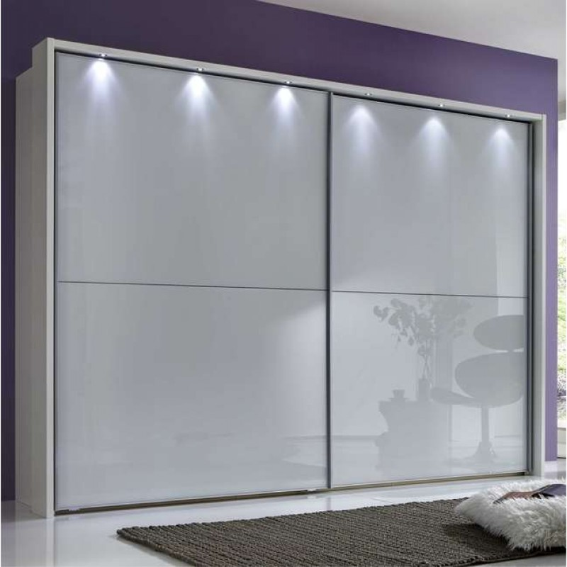 Wiemann Berlin Sliding Wardrobe 2 Door 150cm Alpine White