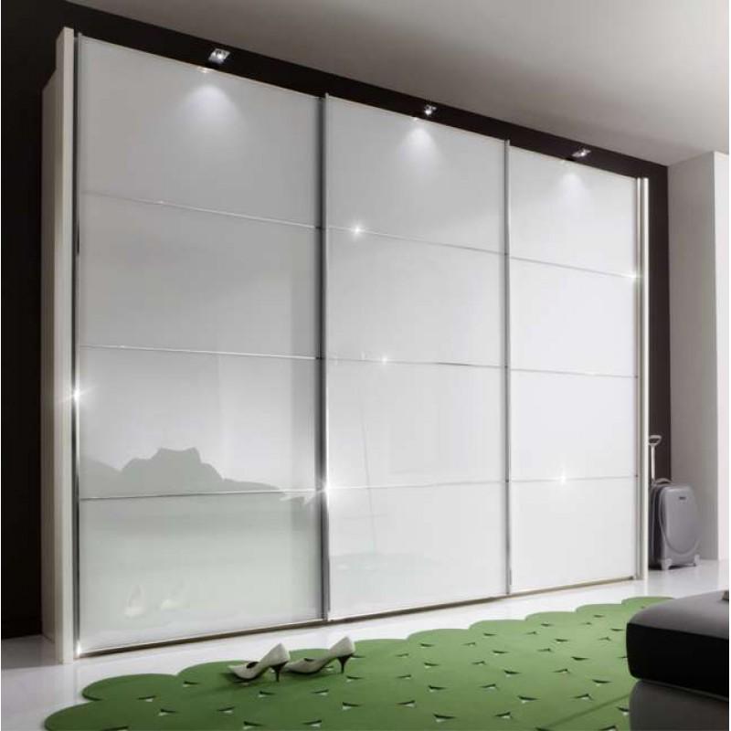 Wiemann Miami Sliding Wardrobe 3 Door 300cm Silver Dark